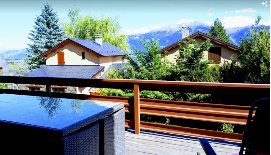 Panorama que l'on voit de notre terrasse