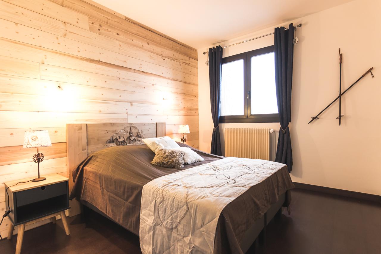 Chambre avec décoration cosy