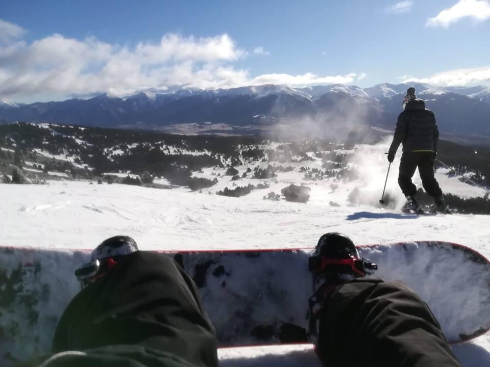 Le ski, Le surf dans des paysages à couper le souffle