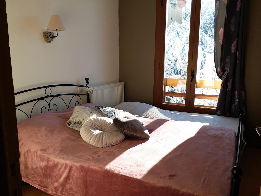 Chambre offrant vue sur la montagne