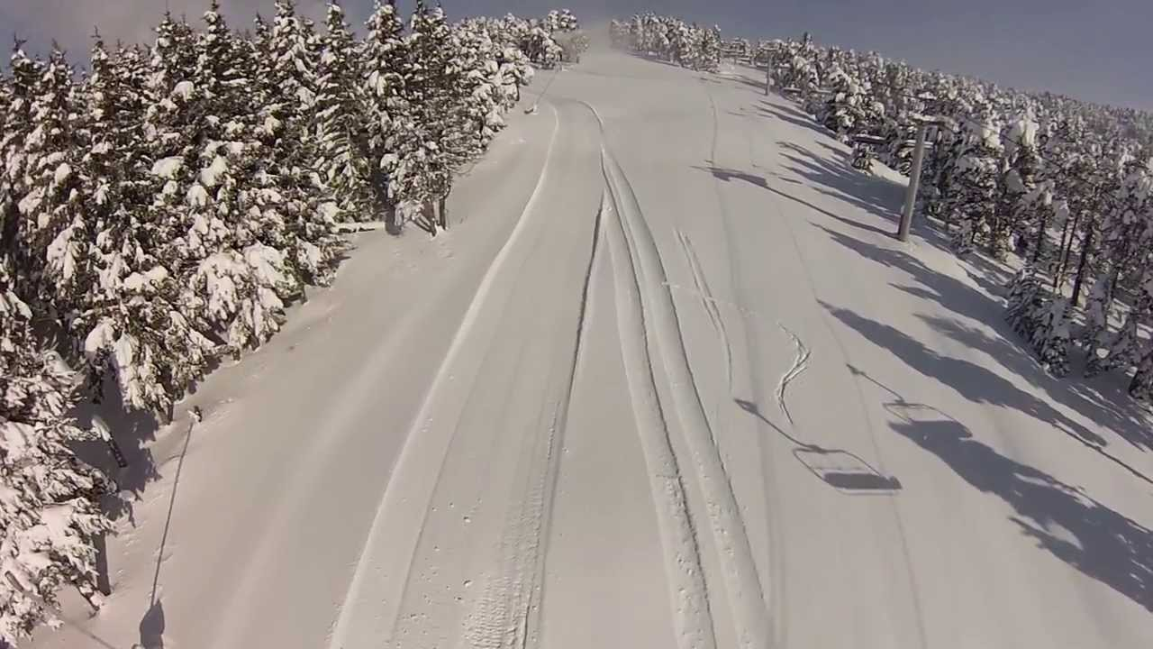 La nature en ski